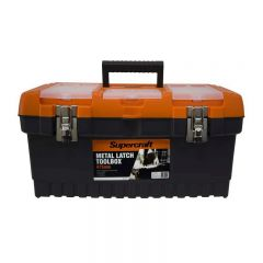 Supercraft 475mm Toolbox with Metal Latch