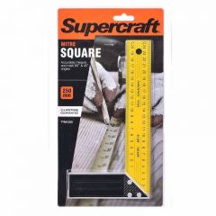 Supercraft 250mm Try & Mitre Square