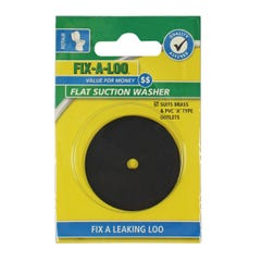 FIX-A-LOO Flat Suction Washer