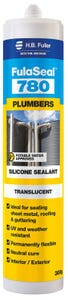 HB Fuller Fulaseal Silicone 780 Plumbers Translucent 300g