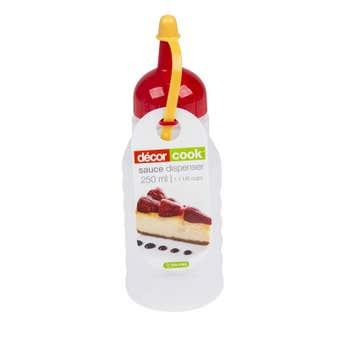 Decor Cook Sauce Dispenser Clear 250ml