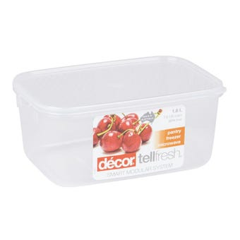 Décor Tellfresh Oblong Storer 1.8L
