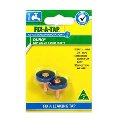 FIX-A-TAP Duro Tap Valve 2 Pack 15mm