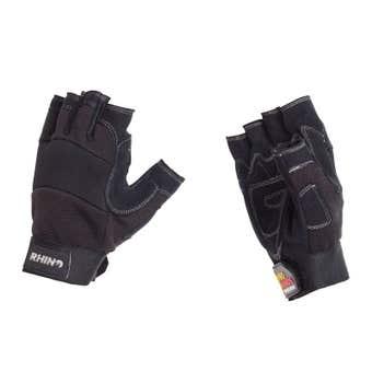 Rhino Fingerless Workshop Gloves