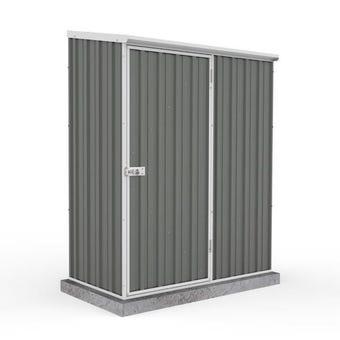 Absco Eco-Nomy Shed Skillion Roof 1.52 x 0.78 x 1.95m