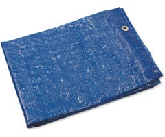 Budget Blue Light Duty Tarp 2.4 x 3.0m