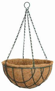 Lattice Wire Hanging Basket 35cm