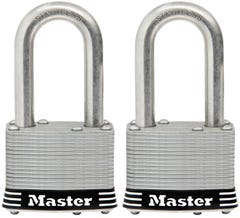 Master Lock Laminated Padlock 2 Pack 44mm