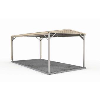 Absco Single Carport Gable N3 3.00 x 6.00 x 3.26m