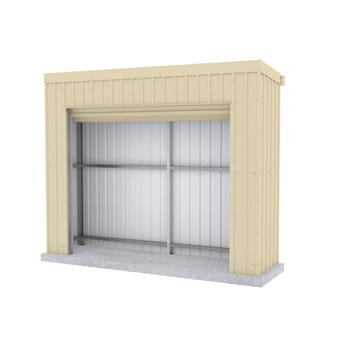 Absco Fortress Garage 3.00 x 0.78 x 2.4m