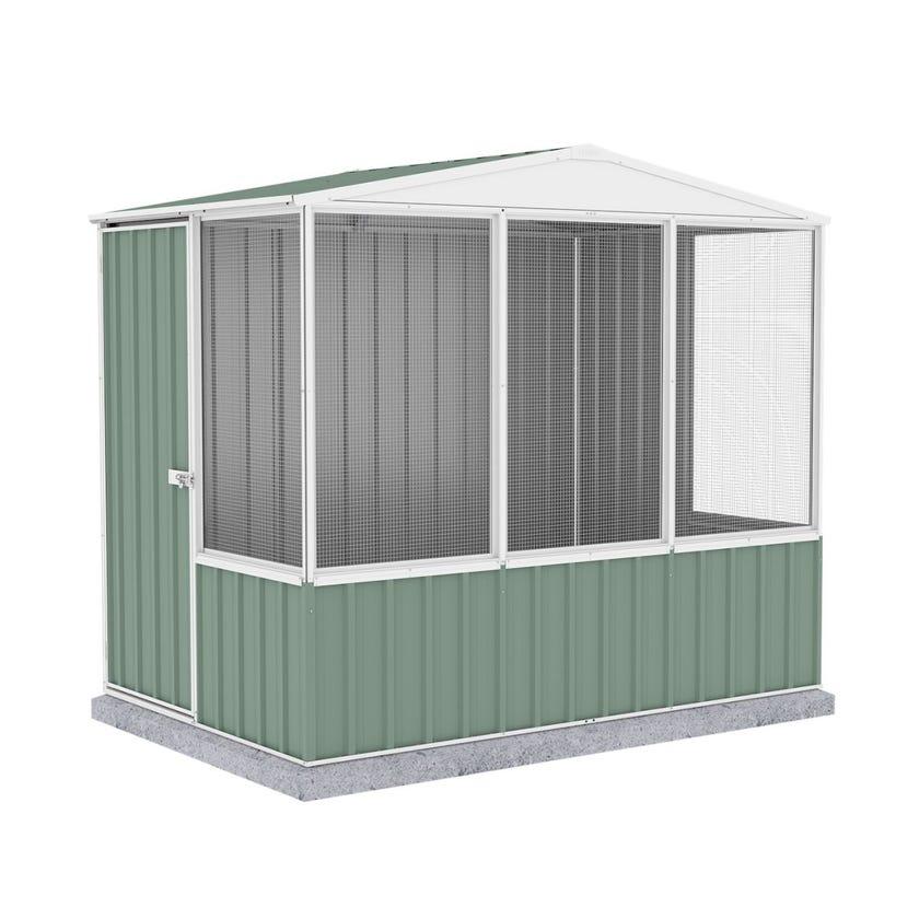 Absco Chicken Coop Gable Roof 2.26 x 1.52 x 2.00m