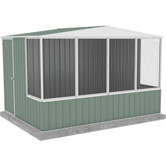 Absco Chicken Coop Gable Roof 3.00 x 2.22 x 2.06m