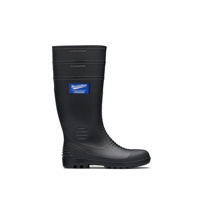 Blundstone Waterproof Non-Safety Gumboot Black 001