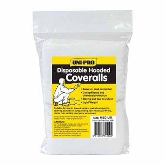 Uni-Pro Disposable Coveralls Medium