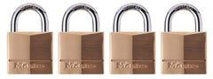 Master Lock Padlock 40mm 4 Pack