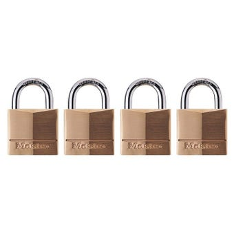 Master Lock Padlock 40mm 4 Pack