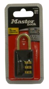 Master Lock Combination Padlock 30mm