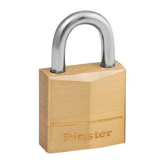 Master Lock Padlock Brass 50mm