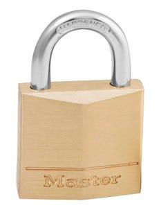Master Lock Brass Padlock 30 x 16mm