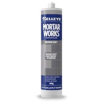Selleys No More Gaps Mortar Works Filler Medium Grey 440g