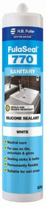 HB Fuller Fulaseal 770 Sanitary Sealant White 300g