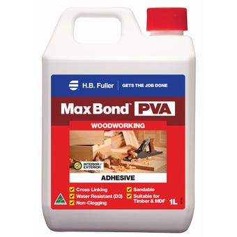 HB Fuller Max Bond PVA Wood Glue 1lt