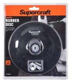 Supercraft Rubber Disc Backing 175mm x 6mm
