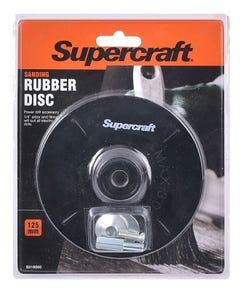 Supercraft Rubber Disc Backing 125mm x 6mm