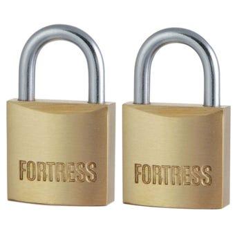 Master Lock Fortress Series Padlock 20mm 2 Pack