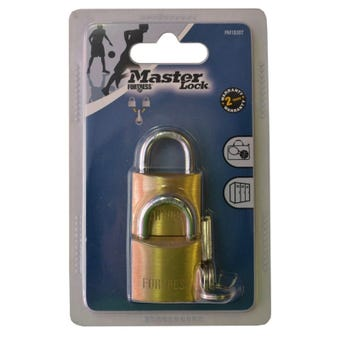 Master Lock Fortress Padlock 30mm 2 Pack