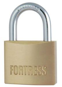 Master Lock Fortress Padlock Brass