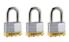 Master Lock Laminated Padlock Set 51mm 3 Pack