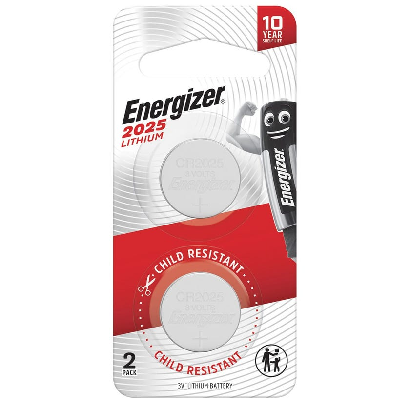 Energizer Lithium Coin Battery 2025 - 2 Pack