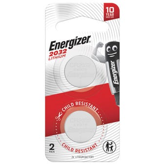 Energizer Lithium Coin Battery 2032 - 2 Pack