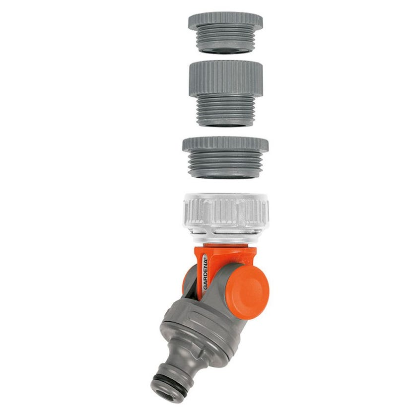 GARDENA Angled Swivel Tap Connector 13mm