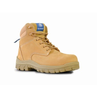 Bata Titan Lace Up Safety Boot Wheat