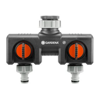 GARDENA Parallel Twin Tap Connector 13mm