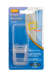 Handle Flexi Clear 4 Pack 25mm