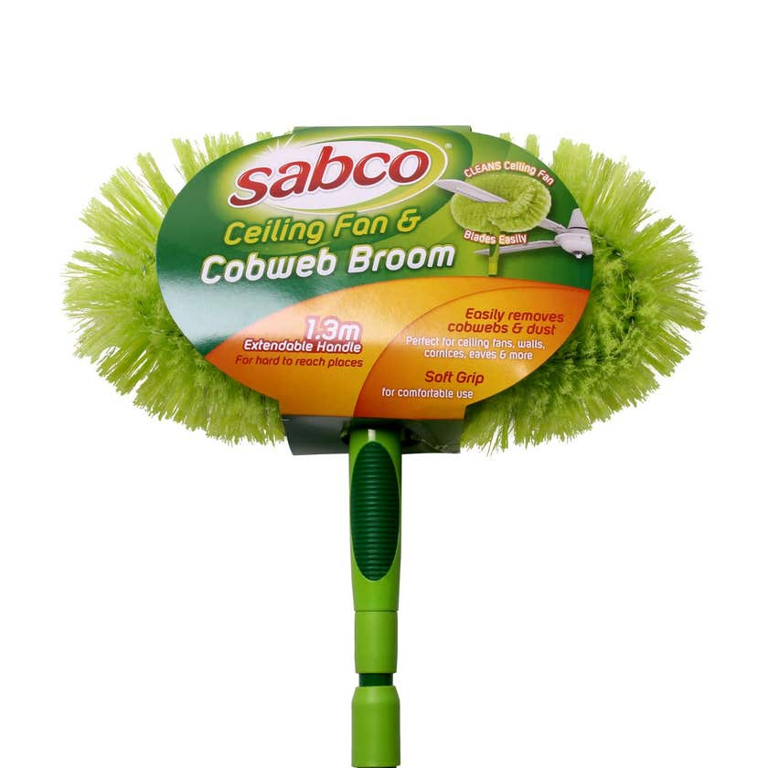 Sabco Ceiling Fan And Cobweb Broom