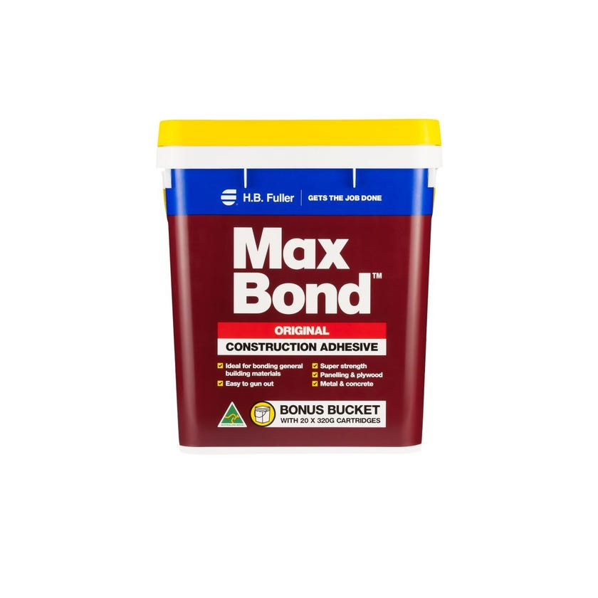 H.B Fuller Max Bond Construction Adhesive Bucket