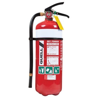 Quell Industrial Dry Powder Fire Extinguisher 4.5kg