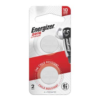 Energizer Lithium Coin Battery 2016
