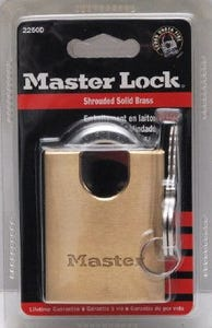Master Lock Brass Padlock 50mm