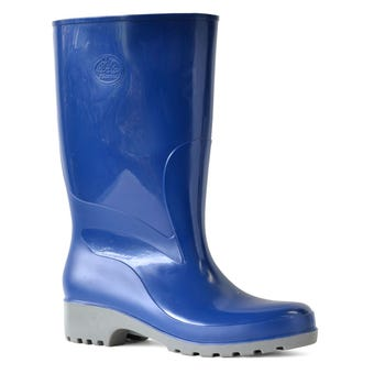 Bata Ladies Weatherguard Gumboots Navy