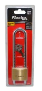 Master Lock Adjustable Brass Padlock 50mm 70-160mm