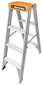 Hurricane™ Dual Punch™ 1.2m Double Sided Ladder 150kg Industrial