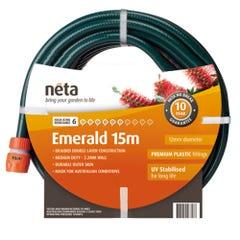 Neta Emerald 15m Fitted Hose (12mm)