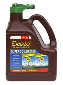 Seasol Soil Wetter Fertiliser Hose On RTU 2L