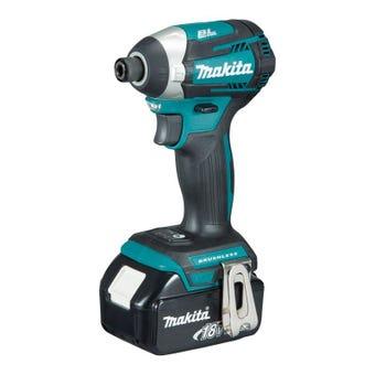 Makita 18V Brushless 4-Mode Impact Driver Kit DTD154RTE