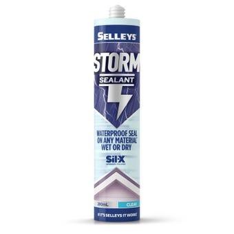 Selleys Storm Sealant Clear 290ml